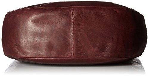 Leather Leather Melissa Handbag Smooth FRYE Hobo Wine Z0Txq17v