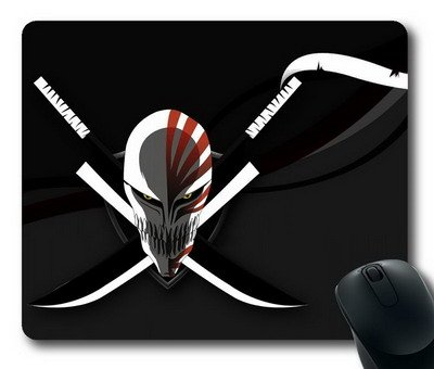 Enjoy happy life ouse Mat,Zangetsu knife Office Computer Mouse Pad (220mm*180mm*3mm)