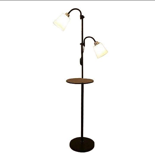 Lámpara de Pie Lámparas de Pie Estilo Europeo Moderno Hierro Acrílico Pintado Lámparas de Piso Ajustable