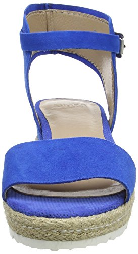 SPM Lexus Damen Knöchelriemchen Sandalen Blau (Electric Blue 011)