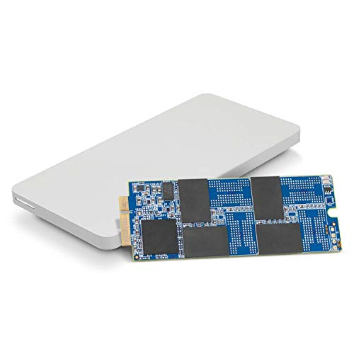 OWC 480GB Aura Pro 6G SSD and Envoy Pro Upgrade Kit for 2012-2013 MacBook Pro with Retina Display.