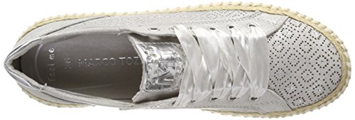 Argent silver Basses Sneakers 23760 Femme Marco Tozzi xgfHXnYq