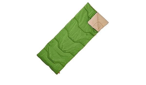 Quechua 20 ° Camping saco de dormir - Temporada 1, verde: Amazon.es: Deportes y aire libre