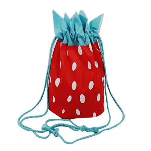 Handbag Rucksack Storage Design Red Bag Pineapple Drawstring Owill Strawberry xB6qUwaI