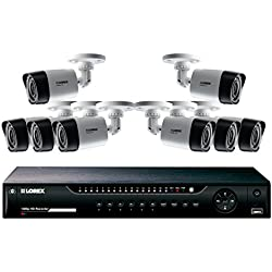 LOREX LHV22161TC8 16-Channel Mpx 1080p HD DVR with 1TB Security Cameras