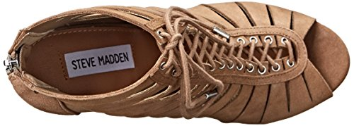 Steve Madden Cyder vestido de la sandalia Taupe Suede