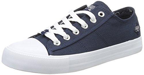 Le Temps des Cerises Origin, Zapatillas de Tela para Mujer Azul (Navy)