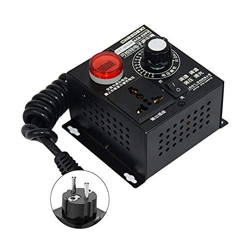 AC SCR Motor 220V Spannungsregler 4000W Drehzahlregler Dimmer Controller TOP