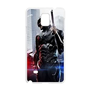 Fashion Style for Samsung Galaxy Note 4 Cell Phone Case White RoboCop 2014 Full Body Armor YIP7882802