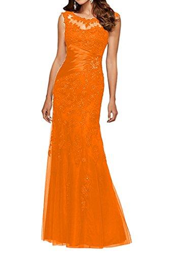 Ballkleider Langes Orange Kleider Brautmutterkleider Blau Damen Abendkleider Charmant Spitze Etuikleider Festliche Navy qZHAnwWg