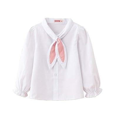 Camisa de Manga Larga para niñas recién Nacidas Camisa de Manga ...
