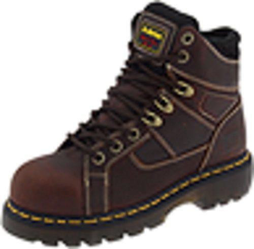 Dr. Martens Ironbridge Safety Toe Boot,Teak,12 UK/14 M US Women's/13 M US Men's