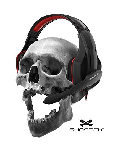 Ghostek-Hero-Series-Gaming-Headphones-Over-Ear-35MM-Jack-PC-Video-Gaming-120-Microphone-Rotation-Mute-Switch-Integrated-Volume-Control-Ultra-Resistant-Braided-Cable