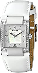Tissot Women's TIST0903106611600 T2 Analog Display Swiss Quartz White Watch