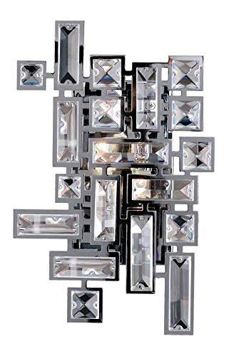 Vermeer 2 Light Wall Bracket W/Chrome Chrome ()