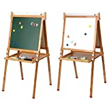 Best Toddler Easels - LIVINGbasics™ Kids Standing Art Easel with Paper Roll Review