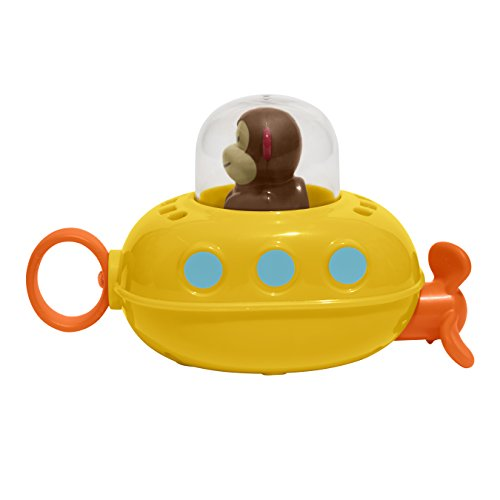 41uyRWKyREL - Skip Hop Pull & Go Monkey Submarine: Baby Bath Toy, Marshall Monkey Zoo Character