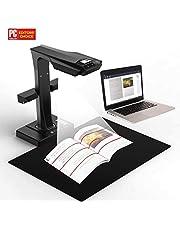 CZUR ET16-P Professionelles Buchscanner, Smart Dokumentenscanner mit OCR Funktion für PC, Nach PDF konvertieren/durchsuchbare PDF/Word/Tiff/Excel für Scanfläche bis A3, USB 2.0 (Schwarz)
