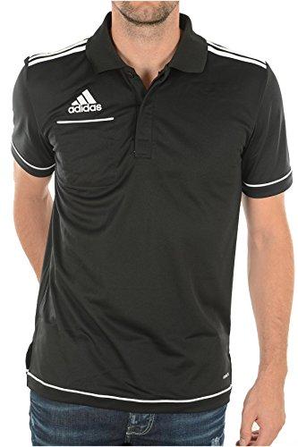 adidas Herren Poloshirt schwarz schwarz M