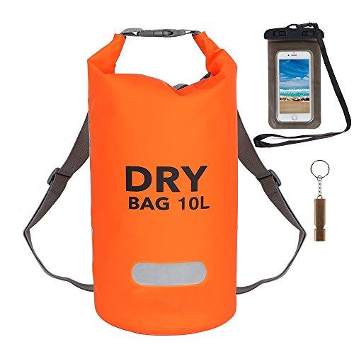 Anyoo Waterproof Dry Bag Roll Top Sack Floating Dry Bag for Boating Kayaking Rafting Fishing Swimming Camping