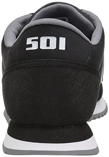 Nieuw Evenwicht Heren 501v1 Rimpeling Sneaker Zwart / Wit