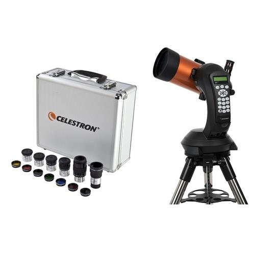 Celestron Nexstar 4SE Maksutov-Cassegrain Telescope + Eyepiece/Filter Accessory Kit (1.25 inch) by Celestron