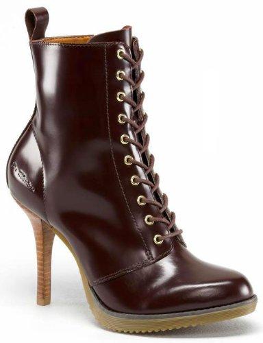 a3451cee369 Dr. Martens Women's Kimora 10 Eye Boot,Oxblood Packard,UK 9 M ...
