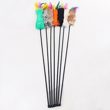 sundautumn juguete bastón Stick plumero con Poile y pluma para ...