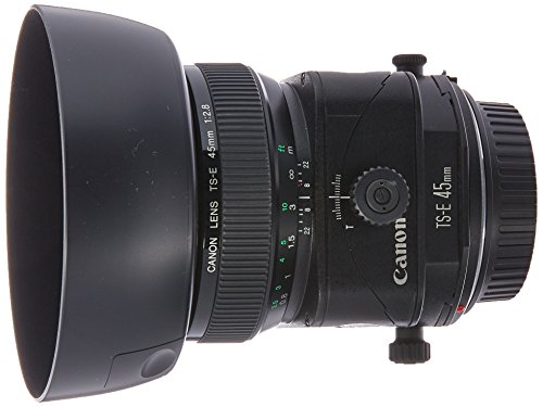 Canon TS-E 45mm f/2.8 Tilt Shift Fixed Lens for Canon SLR Ca