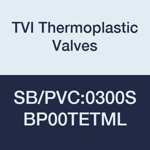 Seat Threaded 3 3 PVC//TFE//EPDM TVI Thermoplastic Valves SB//PVC:0300SBP00TETML Safety Block Valve