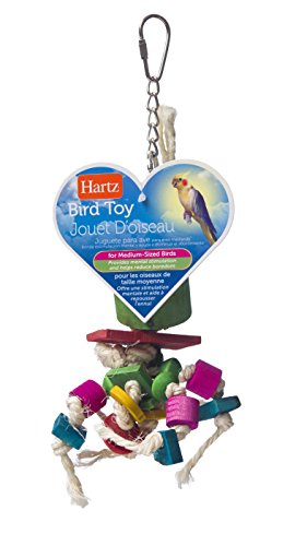 Hartz Wood and Sisal Twine Medium Bird Toy