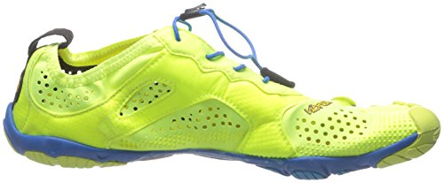 Vibram V-RUN - Zapatillas de running Hombre Mehrfarbig (Yellow/blue/teal)