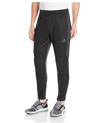 adidas Men's Soccer Tiro 17 Pants, Large, Black/Dark Grey by adidas