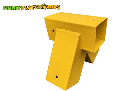 90 Degree Anglesingle Metal Aframe Swing Bracket 4x4 Yellow Outdoor