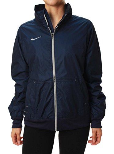 Nike Chaqueta de desafío para las mujeres White/Black/Paramount Blue