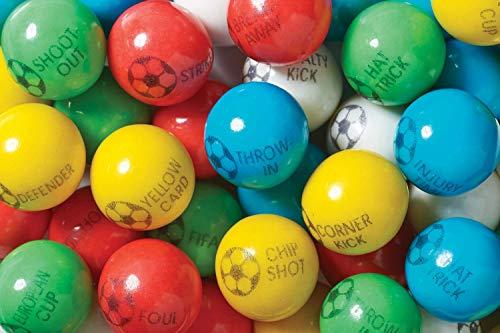 Soccer Balls Gumballs - 1 Lb Bag ()