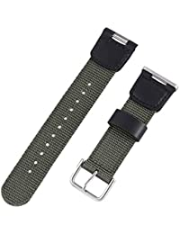 Compatible for SGW100 Casio SGW-100 Watch Replacement Strap Watch Band Watch Accessories Wrist Band Strap Watch Replacement Strap Nylon Canvas Strap