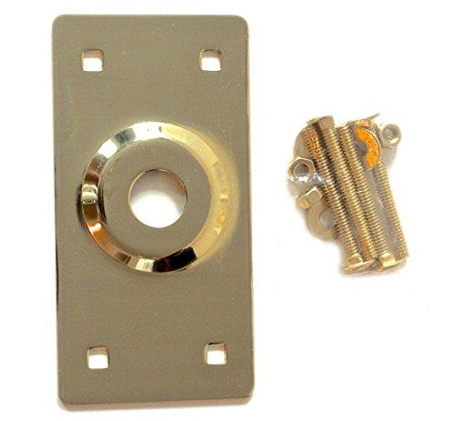 Rim Lock Cylinder Guard Center Rise Brass -  Progressive, 103bp