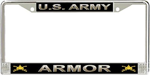 MilitaryBest U.S. Army Armor License Plate Frame