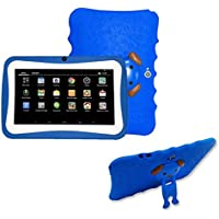 [Kids Edition Tablet] 7 Inches Tablet PC, [HD Touchscreen Mic WIFI ]-Android 4.4 Octa Core Quad Core [Dual Camera Phone] Wifi Phablet Tablet,Support Games,Skype,MSN,Facebook, Twitter, etc (Blue)