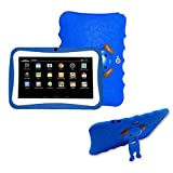 [Kids Edition Tablet] 7 Inches Tablet PC, [HD Touchscreen Mic WIFI ]--Android 4.4 Octa Core Quad Core [Dual Camera Phone] Wifi Phablet Tablet ,Support Games,Skype,MSN,Facebook, Twitter, etc (Blue)