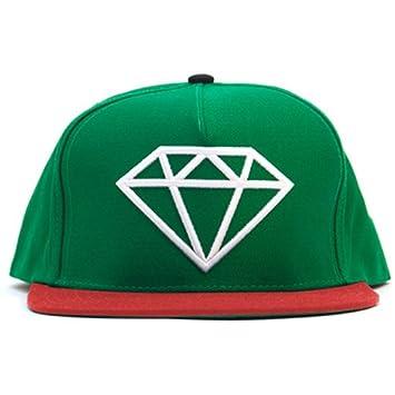 Diamond suministro Co, Rock Logo gorra Verde/gorra blanca/ropa ...
