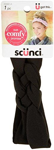 Scunci Braided Knot Motif Super Soft Headwrap - Assorted Colors ()