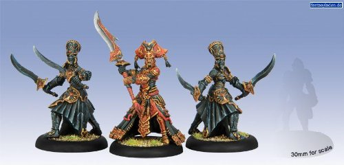 Privateer Press - Hordes - Skorne: Makeda and Exalted Court Model Kit 3