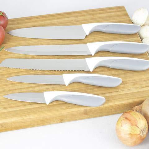 Jean Patrique - Juego de cuchillos de titanio (5 piezas ...
