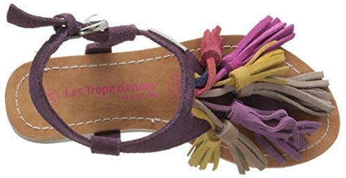 Les Tropéziennes par M. Belarbi Gorby - Sandalias Niñas Morado (Violet)