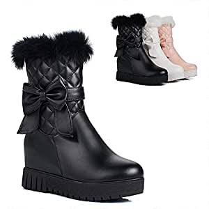 Amazon.com: PLLP Women's Boots-Winter Thick Warm Boots