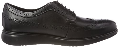 Stringate Nero Brouge U Uomo Geox Winfred C Black Scarpe qw6W0IT