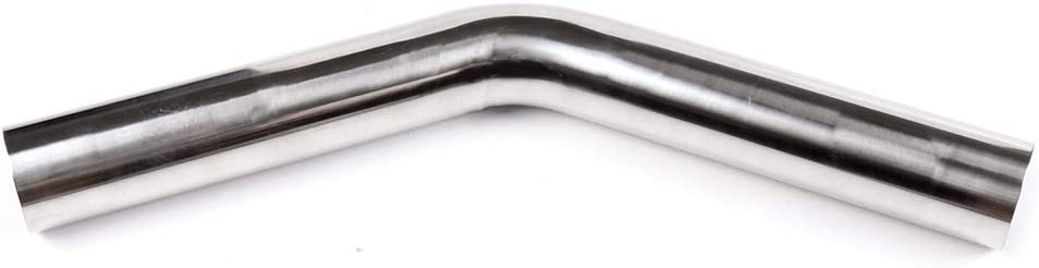 Exhaust Tube Pipes Exhaust Manifolds Exhaust system pipe OCPTY Exhaust Pipe Manifolds T-304 45 Degree 2.5 63mm