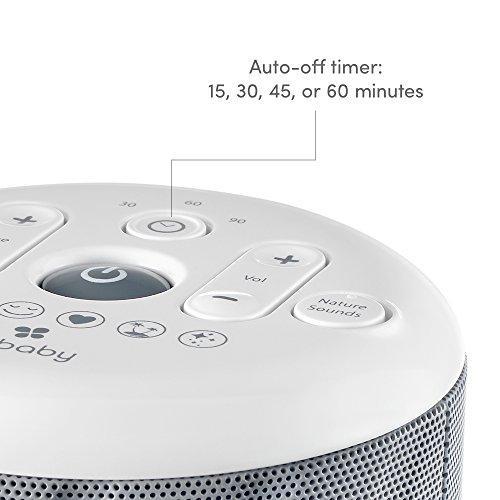 MyBaby, SoundSpa White 6 Sounds: Heartbeat, Mask, Twinkle, | Adapter 4 Portable